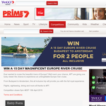 Win a 15 day magnificent European river cruise!