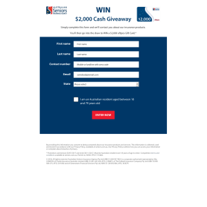 Win a $2,000 eftpos Gift Card