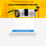 Win a $2,000 JB Hi-Fi Gift Card
