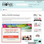 Win a $2,500 'Flight Centre' voucher!