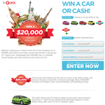 Win a $20,000 Dream Holiday