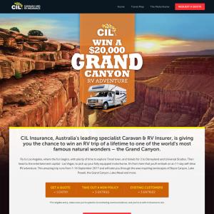 Win a $20,000 Grand Canyon RV Adventure!