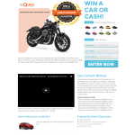 Win a $20,000 Harley-Davidson Roadster Motorcycle