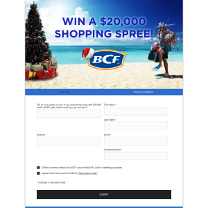Win a $20,000 Shopping Spree