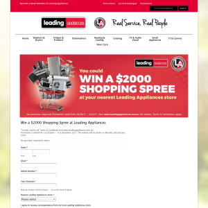 Win a $2000 Shopping Spree