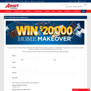 Win a $20K Home Makeover