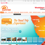 Win a $25,000 self drive Apollo holiday