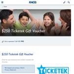 Win a $250 Ticketek Gift Voucher