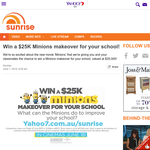Win a $25K Minions makeover for your school!