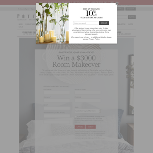 Win a $3,000 room makeover!