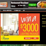 Win a $3000 Lighting Package