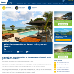 Win a $4000 Noosa Resort holiday for 4 people!