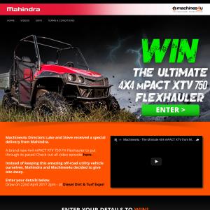 Win a 4x4 mPACT XTV 750 FH Flexhauler!