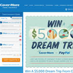 Win a $5,000 dream trip!