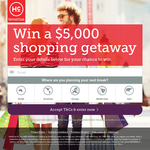 Win a $5,000 Shopping Spree
