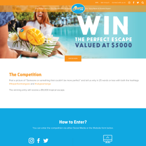 Win a $5,000 tropical escape