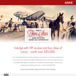 Win a 5-Star AAMI Victoria Derby Day experience!