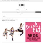 Win a $500 Bloch online gift voucher!