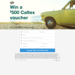 Win a $500 Caltex Voucher