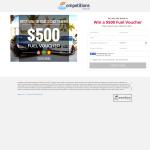 Win a $500 Fuel Voucher