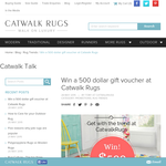 Win a $500 rug voucher!