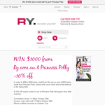 Win a $500 RY.com.au + a $500 Princess Polly store credit!