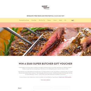 Win a $500 Super Butcher store voucher