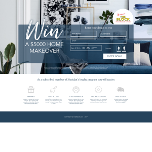 Win A $5000 Home Makeover