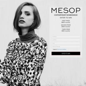 Win a $600 'MESOP' womenswear voucher + MORE!