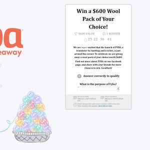 Win a $600 Wool Pack of Your Choice