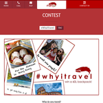 Win a 60L travel backpack