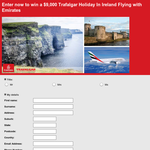 Win a $9,000 Trafalgar holiday in Ireland flying with Emirates!