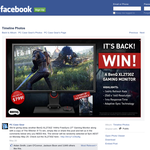 Win a BenQ XL2730Z gaming monitor + a copy of 'The Witcher 3'!!