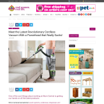 Win a BISSELL Bolt Ion Lift Off Vacuum, valued at $499!