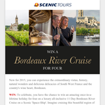 Win a Bordeaux River Cruise for 4!