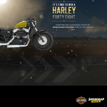 Win a brand new Harley Davidson Forty-Eight!