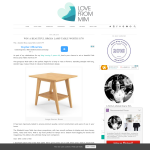 Win a Brosa Side Table worth $179