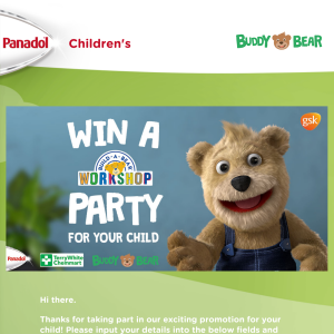 Win a Build-A-Bear Party for Your Child