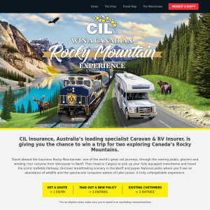 Win a Canadian rocky mountain experience!