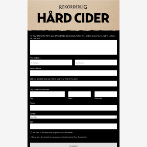Win A Case Of Hard Cider Cans