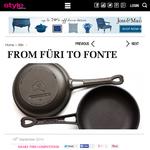 Win a cast-iron pan