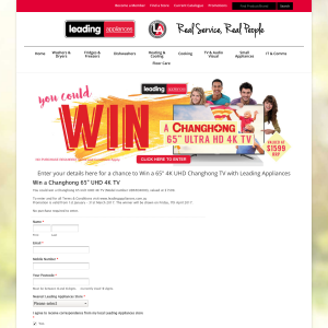 Win a Changhong 65