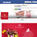 Win a chocolate filled hamper, valued at $59.95!