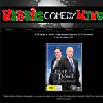Win a Clarke & Dawe - Operational Matters DVD