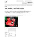Win a 'Coach' Mickey Kisslock bag!