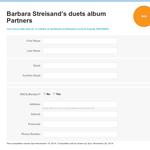 Win a copy of Barbara Streisand's duets album Partners