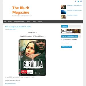 Win a copy of Guerrilla on DVD