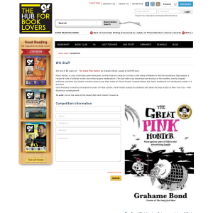Win a copy of The Great Pink Hunter by Grahame Bond