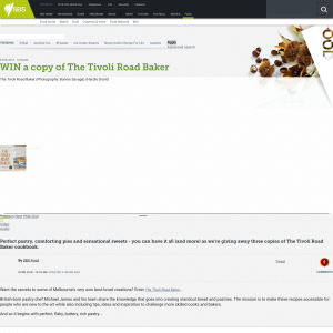 Win a copy of The Tivoli Road Baker