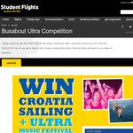 Win a 'Croatia Sailing' trip + Ultra Music Festival experience!